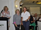 Secretary's Trophy Winner for NTP on 11th Vicki Lloyd